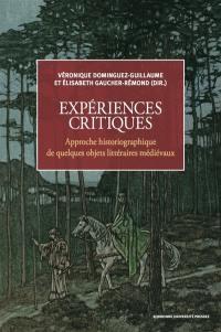 Expériences critiques