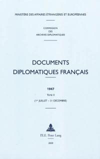 Documents diplomatiques français. Volume 2, 1er juillet-31 décembre