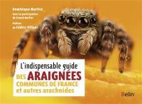 L'indispensable guide des araignées de France et autres arachnides