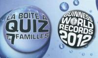 La boîte à quiz & 7 familles Guinness world records 2012