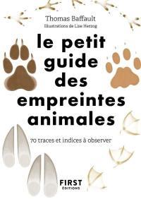 Le petit guide des empreintes animales