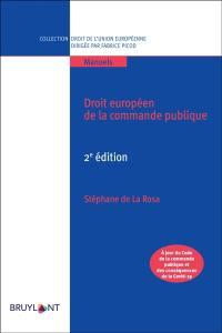 Droit européen de la commande publique