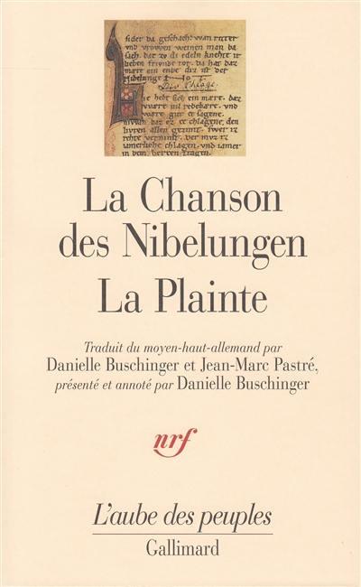 La chanson des Nibelungen, La plainte