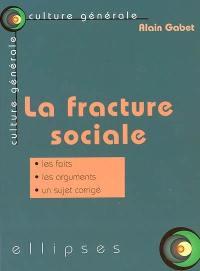 La fracture sociale